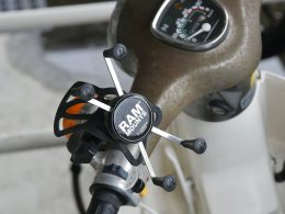 バイクでナビを使いたい。